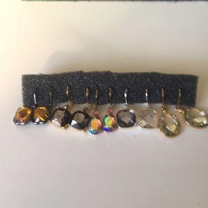 5 pairs Crystal earrings